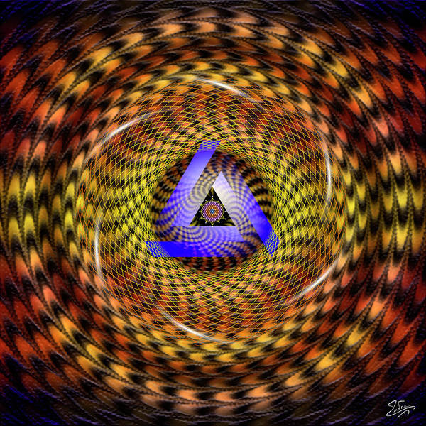Photograph - Sacred Geometry 635 by Endre Balogh
