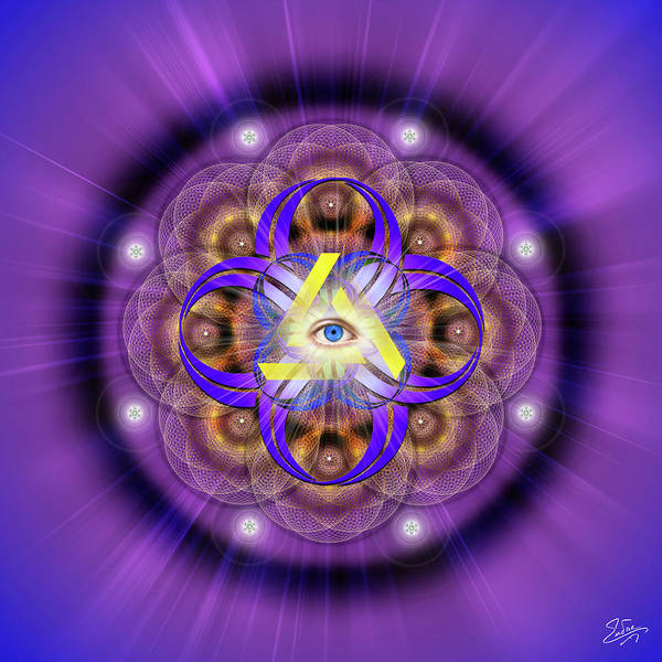 Wall Art - Photograph - Sacred Geometry 639 by Endre Balogh