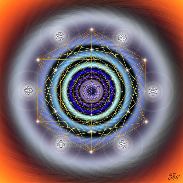 Photograph - Sacred Geometry 640 by Endre Balogh
