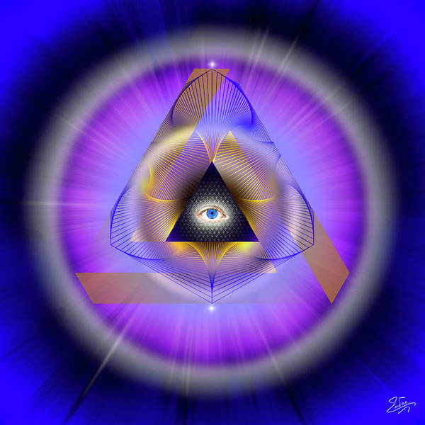 Photograph - Sacred Geometry 642 by Endre Balogh