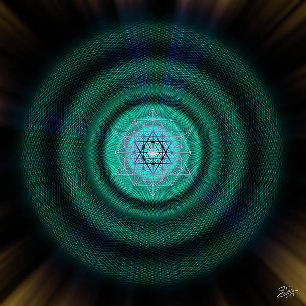 Photograph - Sacred Geometry 651 by Endre Balogh
