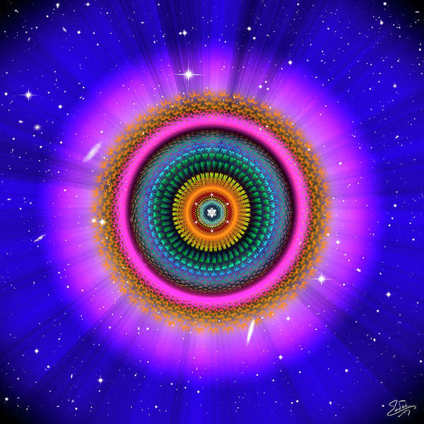 Digital Art - Sacred Geometry 660 by Endre Balogh