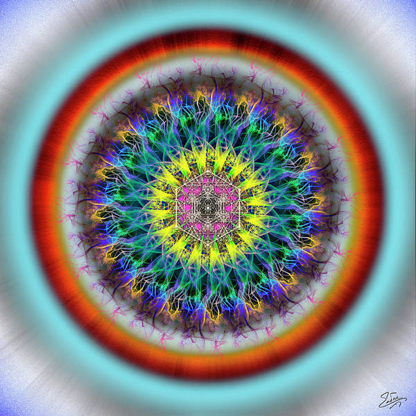 Photograph - Sacred Geometry 665 by Endre Balogh