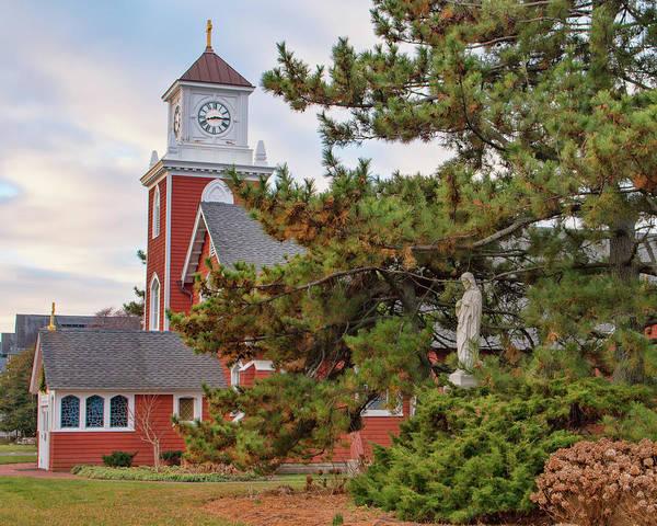 Photograph - Sacred Heart Church - Bay Head, Nj 2 by Kristia Adams