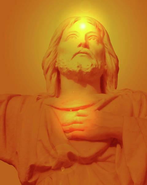 Sacred Heart Mixed Media - Sacred Heart No. 01 by Ramon Labusch