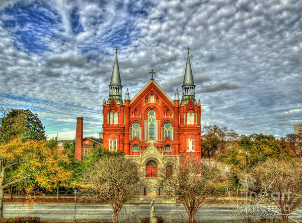 Photograph - Sacred Heart Roman Catholic Church Sacred Heart Cultural Center Augusta Georgia Art by Reid Callaway