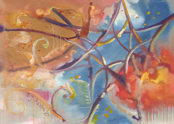 Painting - Sacred Star by Sheri Jo Posselt