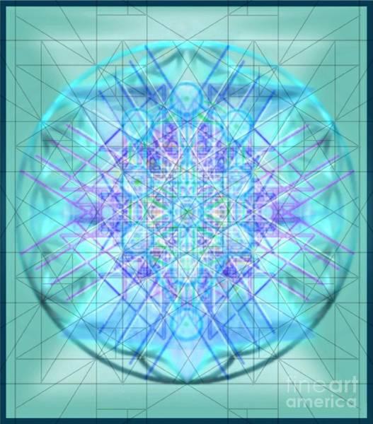 Digital Art - Sacred Symbols Out Of The Void 3b1 by Christopher Pringer