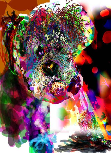 Temperament Digital Art - Sad Dog by James Thomas