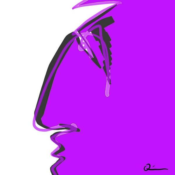 Sad Grape Art Print