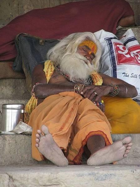 Photograph - Saddhu-varanasi-india by Duncan Davies