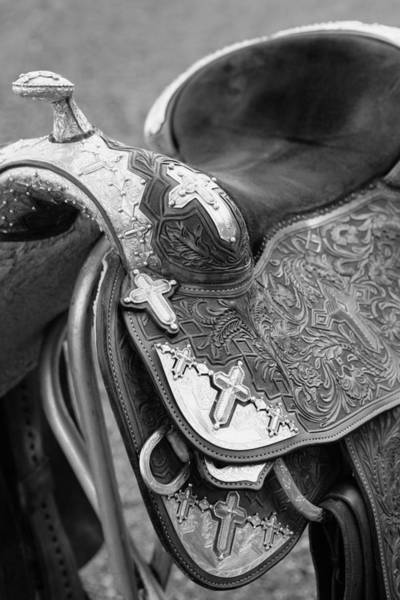Photograph - Saddle by Marilyn Hunt