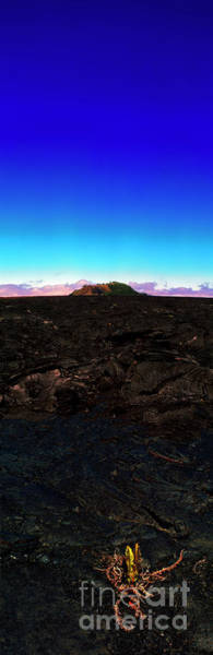 Saddle Road Humuula Lava Field Big Island Hawaii  Art Print