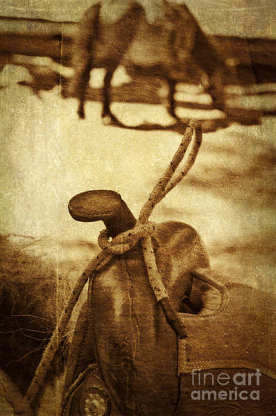 Photograph - Saddle by Silvia Ganora