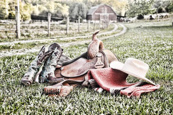 Photograph - Saddle Up by Sharon Popek