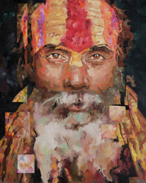 Holy Spirit Painting - Sadu  by Richard Day