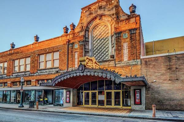 Digital Art - Saenger Theater Front Dsc_0050 by Michael Thomas