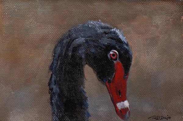 Painting - Safari Swan by Christopher Reid