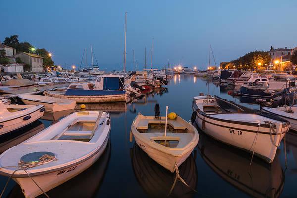 Bluehour Photograph - Safe Harbor by Blaz Gvajc