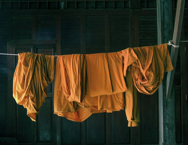 Photograph - Saffron Robes by Jeremy Holton