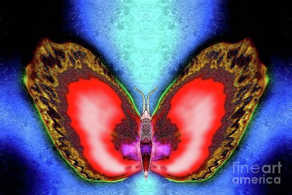 Saffron Digital Art - Saffron Winterberry by Raymel Garcia