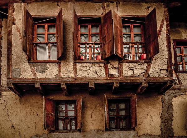 Photograph - Safranbolu, Turkey - Triple Window Bay by Mark Forte