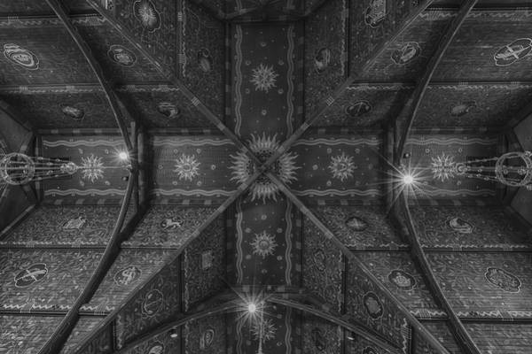 Wall Art - Photograph - Sage Chapel Ceiling #3 - Cornell University by Stephen Stookey