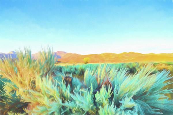 Ranch Digital Art - Sage On The Range by Scott Campbell