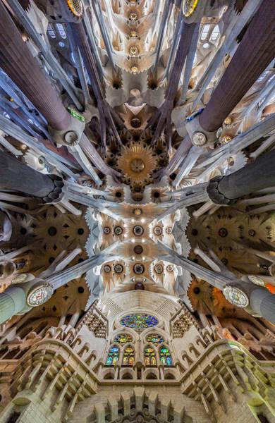 Photograph - Sagrada Familia Southwest Entrance Barcelona by Adam Rainoff
