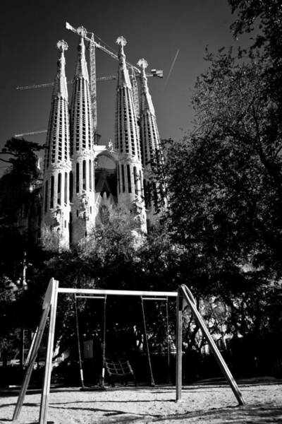 Swing Photograph - Sagrada Swing by Jonathan Hansen