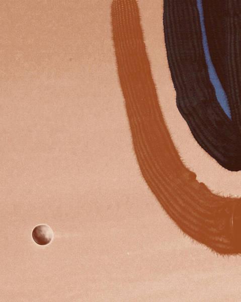Liechtenstein Digital Art - Saguaro And Eclipse by Carolina Liechtenstein