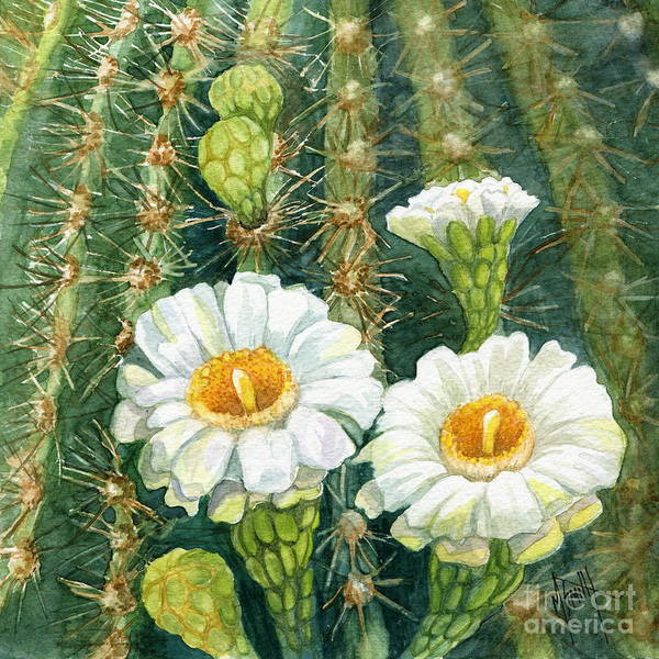 Painting - Saguaro Cactus by Marilyn Smith