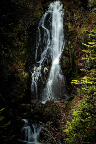 Photograph - Sahale Falls by Hans Franchesco