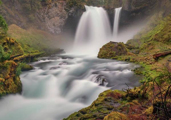 Photograph - Sahalie Falls by Harold Coleman