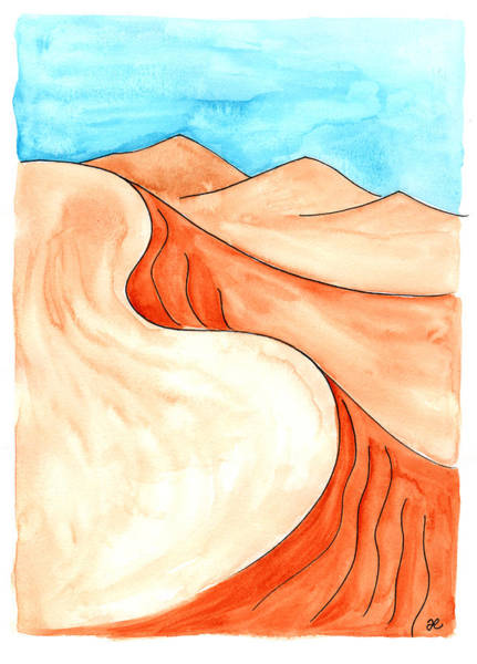 Painting - Sahara 9 by Anna Elkins