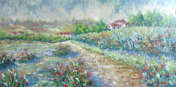Painting - Saignon by Frederic Payet