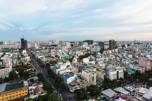 Photograph - Saigon Aerial View by Didier Marti