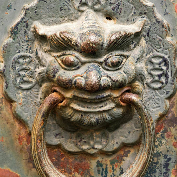 Photograph - Saigon Door Knocker by For Ninety One Days