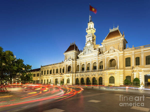 Photograph - Saigon Night Rush by Didier Marti
