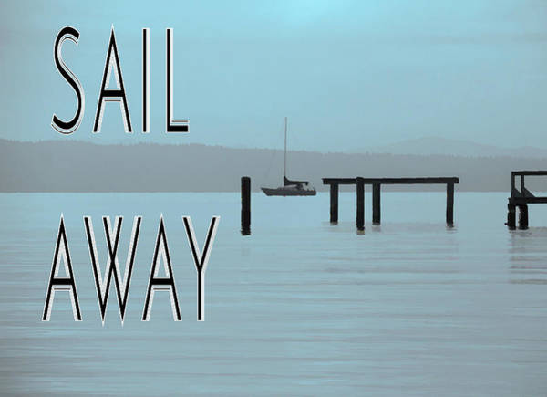 Mixed Media - Sail Away by Dan Sproul