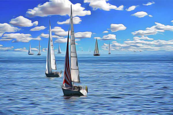 Sail Day Art Print