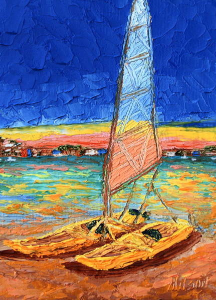 Painting - Sail For Two by Chrys Wilson