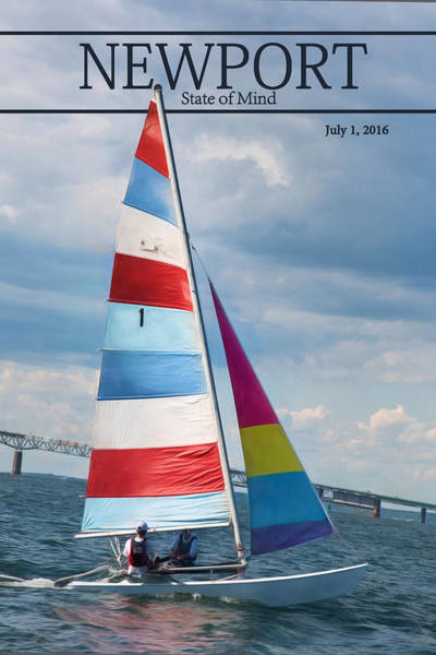 Photograph - Sail Newport by Robin-Lee Vieira