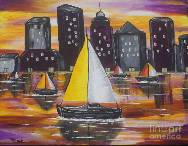 Painting - Sail On by Jimmy Clark