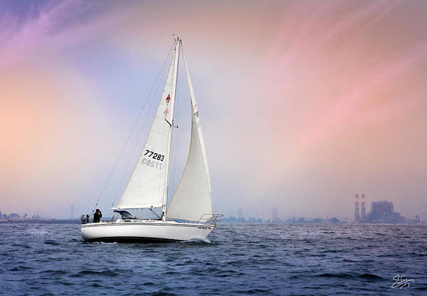Photograph - Sailboat 2 by Endre Balogh