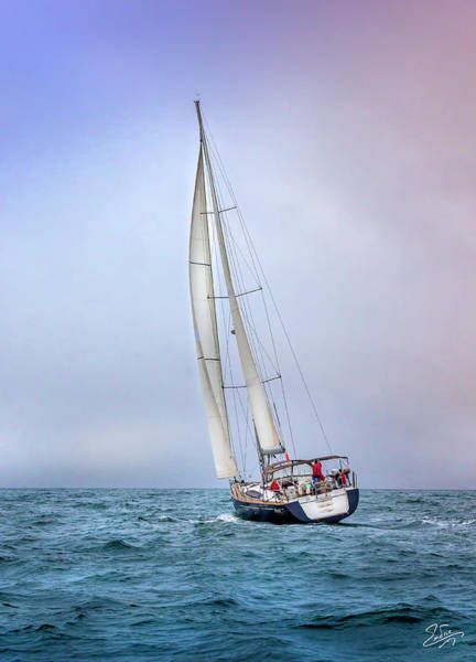 Photograph - Sailboat 6 by Endre Balogh