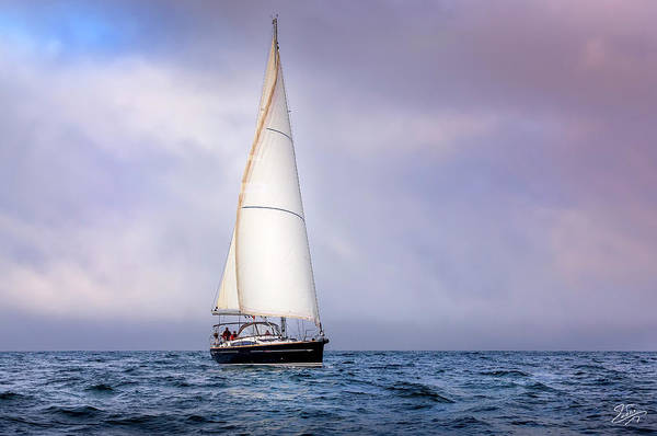 Photograph - Sailboat 7 by Endre Balogh