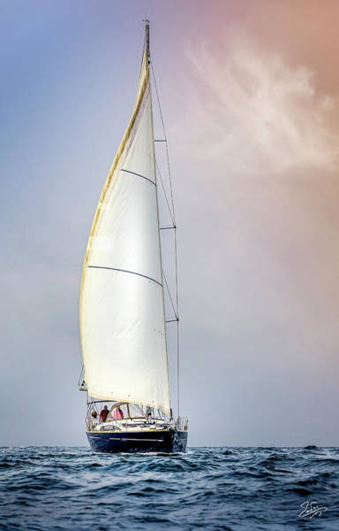 Photograph - Sailboat 9 by Endre Balogh