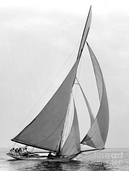 River Hawk Photograph - Sailboat Hawk 1891 by Padre Art