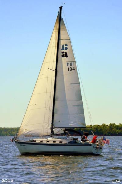 Photograph - Sailboat Horizontal by Lisa Wooten